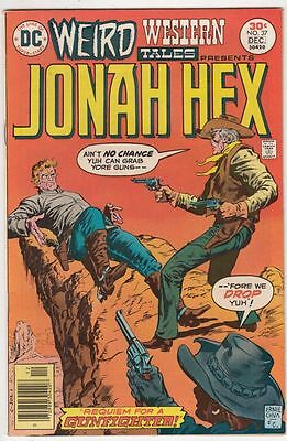 Weird Western Tales Jonah Hex 37 strict NM- 9.2 High-Grade  C'ville Collection