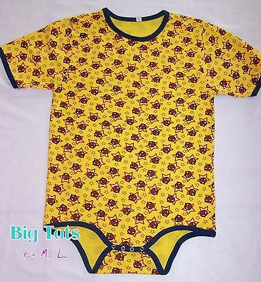 Adult Baby Spiderman knit Bodysuit  *Big Tots by MsL* *