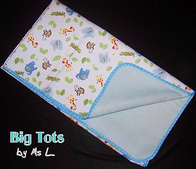 Adult Baby Jungle Anamals diaper changing pad waterproof Big Tots