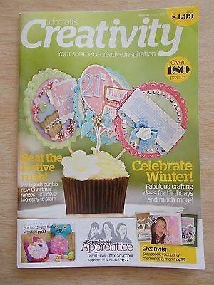 docrafts~Creativity #28~Cards~Cake Boxes~Felt Animals~Four Door~Shabby Chic~Xmas