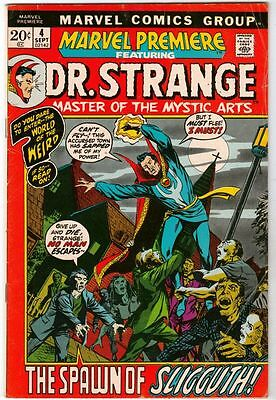 Marvel Premier #4 Dr. Strange strict FN 6.0   New Movie Coming Out Soon   WOW