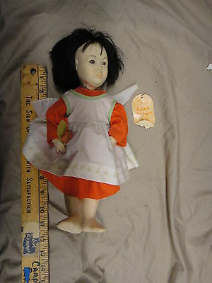 Effanbee Stafford Lotus Blossom doll, stored used needs lil cleaning