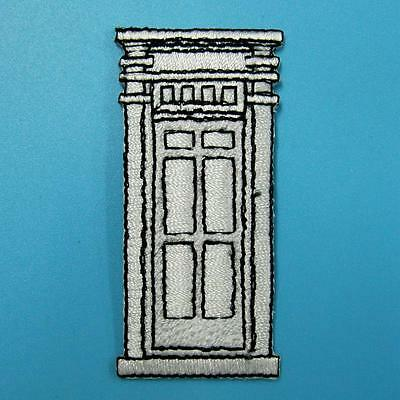 Door Iron On Sew Patch Cute Applique Badge Embroidered Window House Family Motif
