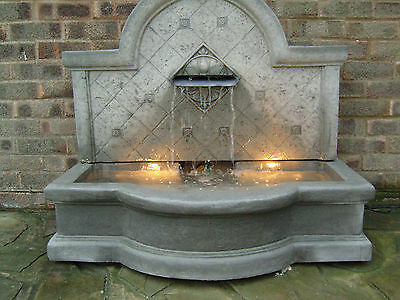 Large Stone Garden Outdoor  Water Fountain