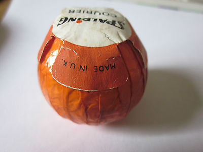 "Vintage   Wrapped Golf Ball: Spalding ""courier""  1.62"