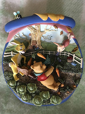 3 x limited edition Winnie the Pooh's Honeypot Adventures plates