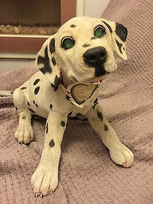 """Dalmatian puppy ornament excellent condition 11"""" high by puppy love"""