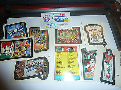 Topps Wacky Packages Card/stickers -Mixed Series