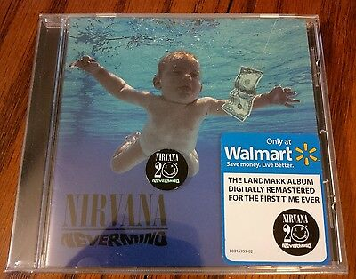 Nirvana Ultra Rare Oop Nevermind 20Th Anniversary Remaster Cobain Foo Fighters