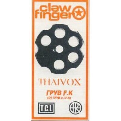 CLAWFINGER Live In Moscow FLYER Russian Small Doubl Sided Promo Flyer Approx 7