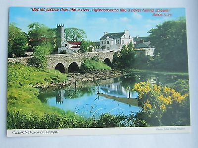 Hinde Holy Bible Quote Calendar Postcard Culdaff Donegal Ireland