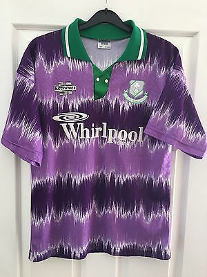 *M* 1993 SHAMROCK ROVERS Away Matchwinner Whirlpool Football Shirt