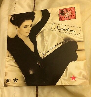 "SIOUXSIE & THE BANSHEES Kiss Them For Me (Kathak Mix) 12"" VINYL Mint - Very Rare"
