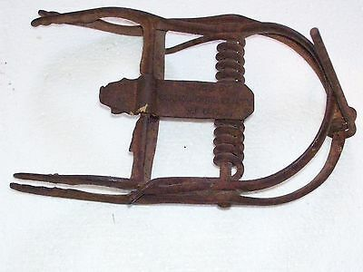 "1- Vintage: ""Out of Sight"" Mole trap Oneida Community/trapping /Newhouse"