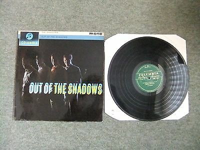 The Shadows, Out Of The Shadows, Vinyl Album, VG/GD.
