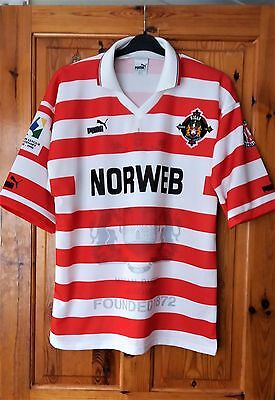 Vintage Wigan Rugby Jersey       Puma        Large