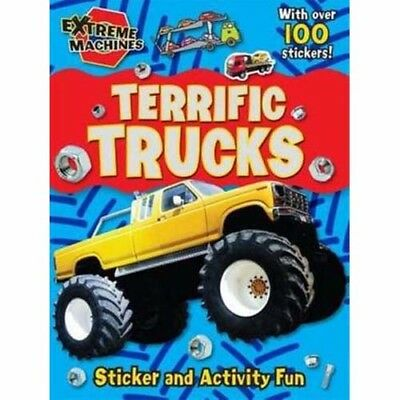Terrific Trucks: Press-out Sticker and Activity Book