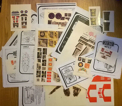 Star Wars Ship Replacement Sticker Sheets *With Placement Instructions*