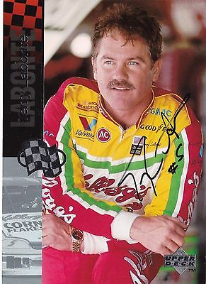 "Terry Labonte Kellogg's NASCAR Racing Autographed Upper Deck 5"" x 7"" Card"
