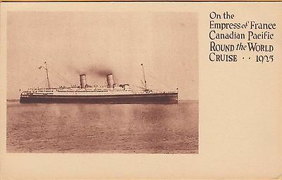 On The Empress Of France Canadian Pacific Round The World Cruise 1905