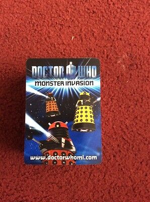 Dr Doctor Who MONSTER INVASION 108 Different Cards Set inc. Rare