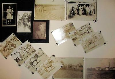 LOT of 17 PHOTO s, ca. 1919 WWI ARMY CAMP STANLEY Leon Springs CORPUS CHRISTI TX