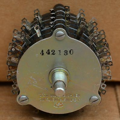 JBT Instruments Enclosed Rotary Switch 5 Pole 20 Position Model MS-20-B5