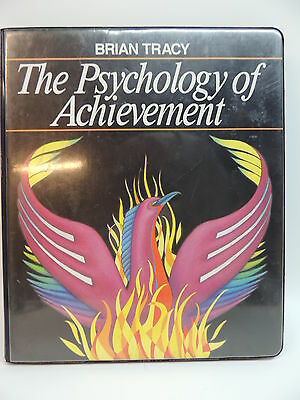 THE PSYCHOLOGY OF ACHIEVEMENT Nightingale Conant 6 Cassette Tapes BRIAN TRACY
