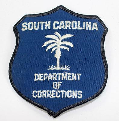 Rare Vintage South Carolina Department of Corrections Embroidered Patch