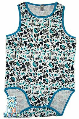 *Big Tots*   Tank PIRATE bodysuit  Adult Baby