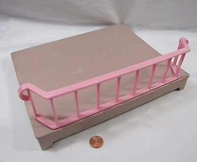 LITTLE TIKES Dollhouse-Sized PULL OUT PINK PATIO PORCH DECK Replacement Floor