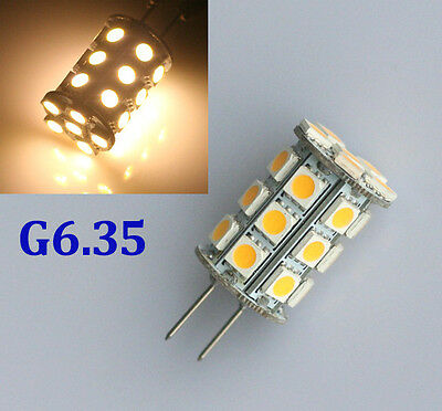 4W LED 27 5050 SMD GY6.35 G6.35 230V Halogen Incandescent 35W Replacement Bulb