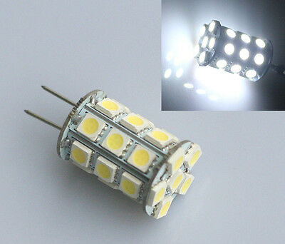 White 27 LED SMD GY6.35 G6.35 230V Halogen Incandescent 35W Replacement Bulb
