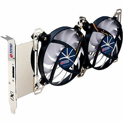 Titan TTC-SC07TZ(RB), VGA Cooler, with 2x 95mm Fan