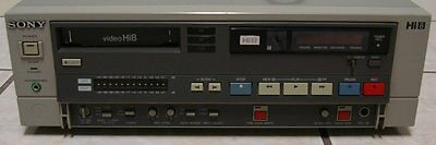 Sony EVO-9500A PRO Hi8 Video8 8mm Video 8 Player Recorder PCM TC VCR Deck EX