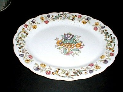 "Booths China England #A8032 BAYONNE 13-3/4"" Oval Platter"