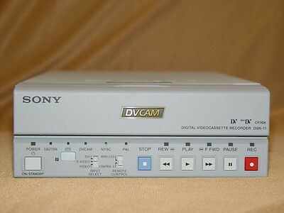 Sony DSR-11 DSR11 NTSC PAL DVCAM MiniDV Mini DV Player Recorder PRO VCR Deck LN