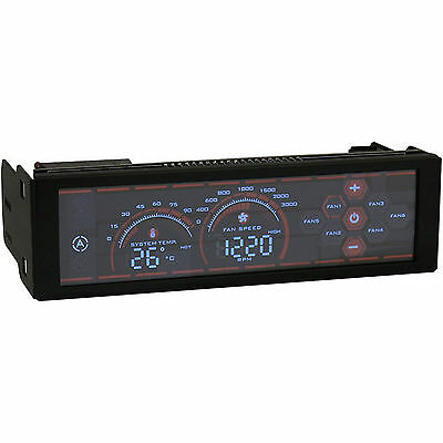 """Fan controller LC Power LC-CFC-1 AiRazor Touch Screen for 5,25"""""""
