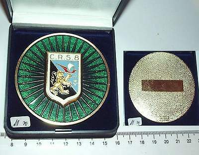 Medaille Frankreich Police Nationale C.R.S. 8  68mm (m70-)