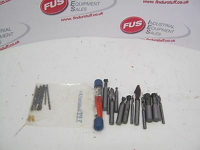 Selection Of Carbide Tools, Drills, Milling Cutter Etc - Most Have Been Used