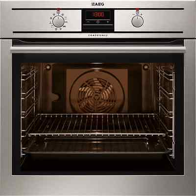 AEG BP320300KM Built In Electric Single Oven Stainless Steel