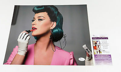 Katy Perry Signed 11 x 14 Color Photo JSA Auto
