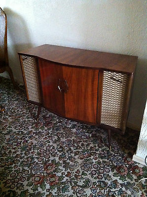 RETRO VINTAGE Portadyne Stereophonic RADIOGRAM PROJECT part working only