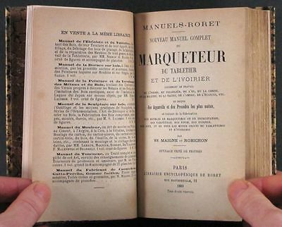 1889 French Guide: Marquetry- Bone, Horn, Baleen, Amber, Mother-of-Pearl &c