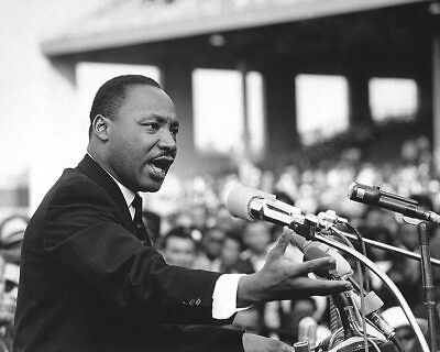 Martin Luther King, Jr. Giving Speech 11x14 Silver Halide Photo Print