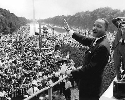 Martin Luther King, Jr. 'I Have A Dream' Speech 11x14 Silver Halide Photo Print