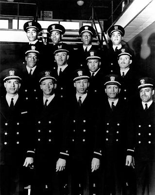 1st African American Naval Officers Navy 11x14 Silver Halide Photo Print