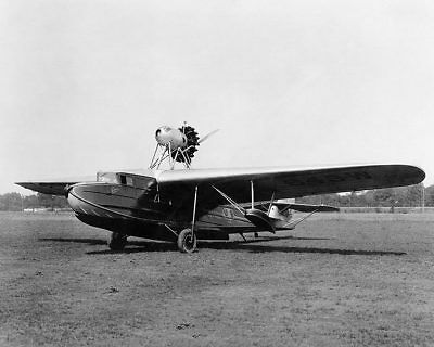 Fokker Amphibian Aircraft 11x14 Silver Halide Photo Print