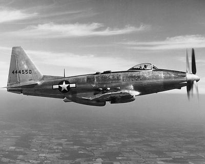 General Motors P-75 / P-75A Eagle in Flight 11x14 Silver Halide Photo Print