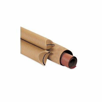 """Aviditi S3024K Spiral Wound Fibreboard Crimped End Mailing Tube, 24"""" Length x..."""